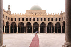 Mosque courtyard Royalty Free Stock Image