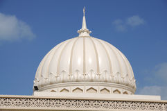 Mosque Cupola, Sharjah Royalty Free Stock Photo