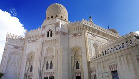 Mosquée d'Abu El Abbas Masjid, l'Alexandrie, Egypte. Photos libres de droits