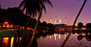 Mosque at Dawn Royalty Free Stock Image