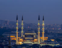 Mosquée de Kocatepe à Ankara Images stock