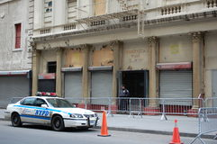 Mosquée de point zéro, New York City Photo stock