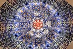 Mosque decoration art Stock Photos