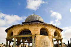 Mosque Dome. Close view of a dome near Al-Aksa (Jerusalem, Israel Stock Images