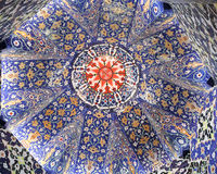 Mosque dome decoration Royalty Free Stock Photography