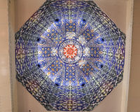 Mosque dome decoration Stock Photos