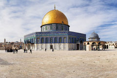 Mosque Dome of the Rock, Jerusalem Stock Photos