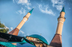 Mosque in Donetsk, DNR Royalty Free Stock Photos