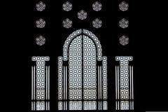 Mosque door. Doors inside the Hassan II mosque in Casablanca, Morocco Stock Photo