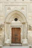 Mosque door in cairo egypt Royalty Free Stock Images
