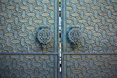 Mosque doorknockers Royalty Free Stock Photos