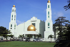 Mosque in downtown of Colombo Royalty Free Stock Images