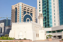 Mosque downtown in Doha, Qatar Stock Photo