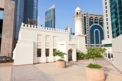 Mosque downtown in Doha, Qatar Royalty Free Stock Photo