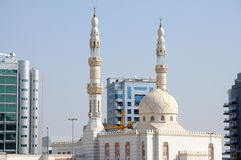 Mosque in Dubai city Stock Photo