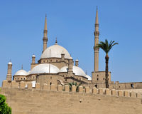 Mosque in Egypt royalty free stock photos