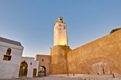 Mosque at El-Jadida, Morocco. Mosque minaret at El-Jadida, Morocco Stock Images