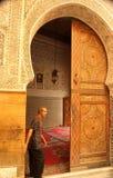 Mosque entrance Stock Photography