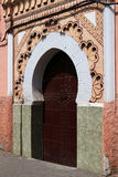 Mosque Entrance in Marrakesh Stock Image