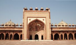 Mosque at Fatehpur Sikri Stock Photography