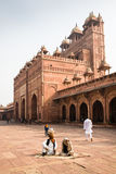 Mosque, Fatehpur Sikri, India Royalty Free Stock Images