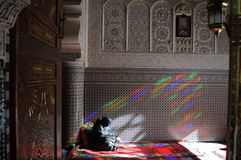 Mosque in fez Stock Image