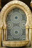 The Mosque fountain in Casablanca Royalty Free Stock Images