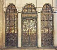 Mosque gates Stock Photo