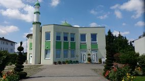 Mosque Germany Jugesheim stock photo