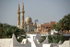 Mosque in Ghadames, Libya Royalty Free Stock Photo