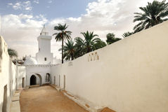 Mosque in Ghadames, Libya. Mosque in Ghadames, ancient berber city, Libya, UNESCO wold heritage usite Royalty Free Stock Photo