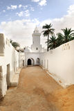 Mosque in Ghadames, Libya Royalty Free Stock Images
