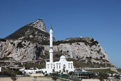 Mosque in Gibraltar Stock Photo