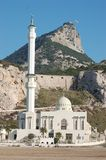 Mosque at Gibraltar Stock Image