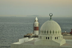 Mosque at Gibraltar Royalty Free Stock Photography