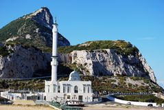 Mosque, Gibraltar. Royalty Free Stock Image