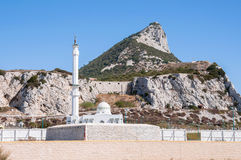 Mosque on Gibraltar Stock Images
