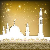 Mosque gold Royalty Free Stock Image