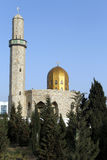 Mosque with golden dome Stock Photography