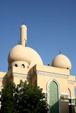 Mosque in golden sunshine Royalty Free Stock Image