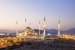 Mosquée grande au Foudjairah, EAU Image stock