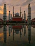 Mosque. Great mosque central java indonesia Royalty Free Stock Photo