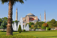 Mosque Hagia Sophia Royalty Free Stock Photography
