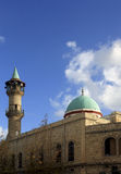 Mosque in Haifa stock photo