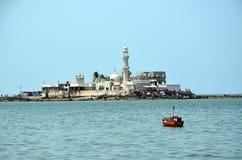 Mosque Haji Ali in Mumbai. India royalty free stock photo