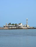 Mosque  Haji Ali in Mumbai Stock Image