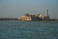 Mosque Haji Ali. Mumbai, India. Mosque in middle of the sea in Mumbai. Haji Ali royalty free stock image