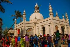 Mosque Haji Ali. Mumbai, India. Royalty Free Stock Photos