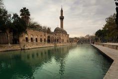 Mosque of Halil-ur-Rahman, Sanliurfa stock image