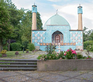 Mosque in Hamburg Royalty Free Stock Images